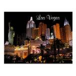 Casinos de la tira de Las Vegas, postal de Nevada