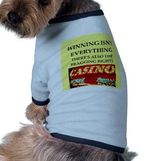 casinos camisas de perritos