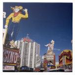 Casinos y hoteles en Las Vegas Azulejo