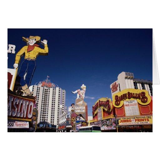 Casinos y hoteles en Las Vegas Tarjetón