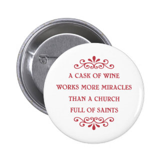 Cask of Miracles -cf Pinback Button