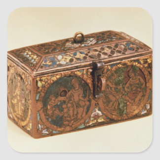 Casket, 13th century stickers