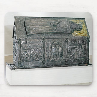Casket containing the remains of St. Simeon Mousepads
