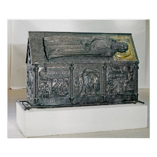 Casket containing the remains of St. Simeon Poster
