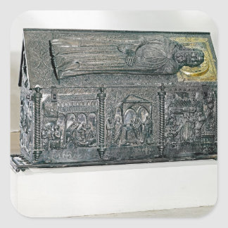 Casket containing the remains of St. Simeon Stickers