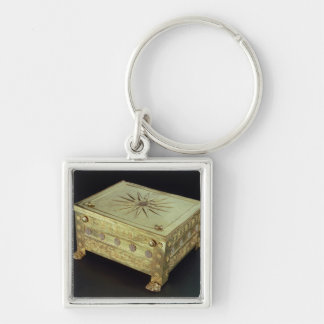 Casket from the tomb of Philip II of Macedon Keychain