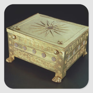 Casket from the tomb of Philip II of Macedon Square Stickers