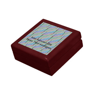 """Casket """"long"""" multicolored gift boxes"""