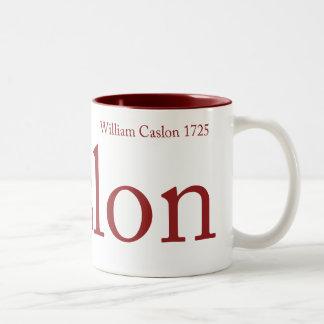 Caslon Mug