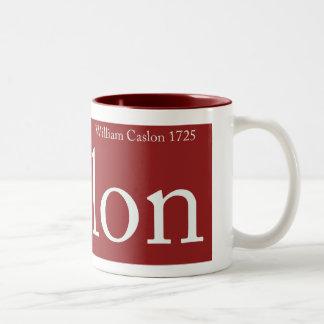 Caslon Mug Lge
