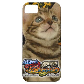 Caso 02 del gatito del iPhone 5 de A-Kerr Funda Para iPhone SE/5/5s