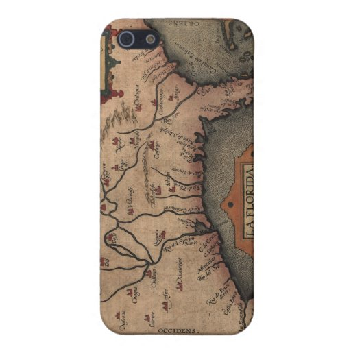 Caso 1584 del iPhone del mapa de la Florida del La iPhone 5 Cobertura