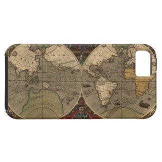 Caso 1595 del iPhone 5 del mapa del mundo del Funda Para iPhone SE/5/5s