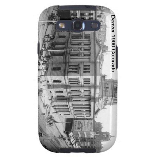 Caso 1900 del compañero de Denver Colorado Samsung Galaxy S3 Cobertura