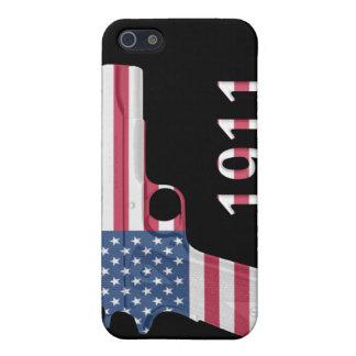 Caso 1911 del iPhone 4 de la bandera americana wit iPhone 5 Carcasa