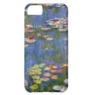 Caso 1916 del iPhone 5 de los lirios de agua de Mo Funda iPhone 5C