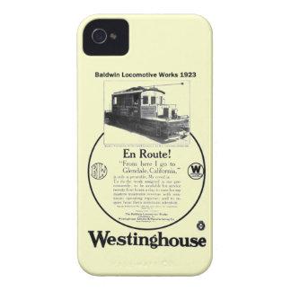 Caso 1923 del iPhone 4 de la locomotora de iPhone 4 Case-Mate Cobertura