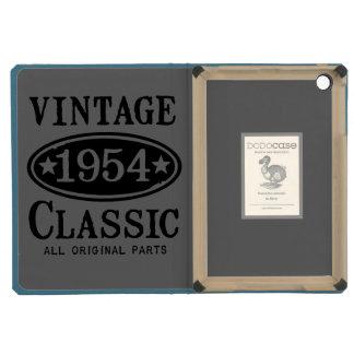 Caso 1954 del iPad de la obra clásica del vintage