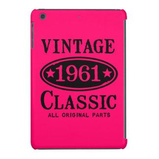 Caso 1961 del iPad de la obra clásica del vintage Funda Para iPad Mini Retina