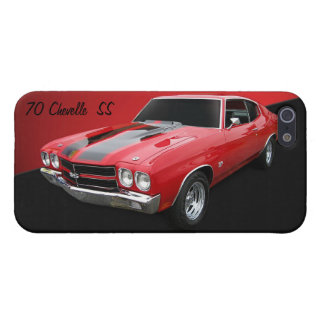 Caso 1970 del iPhone 5/5s de Chevelle SS Chevrolet iPhone 5 Carcasa