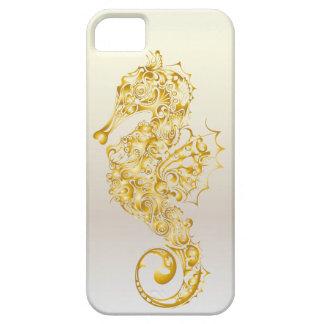Caso 1 del iPhone del libro del Seahorse - Golreen iPhone 5 Case-Mate Protector
