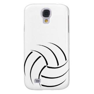 caso #1 del voleibol del iPhone Funda Para Galaxy S4