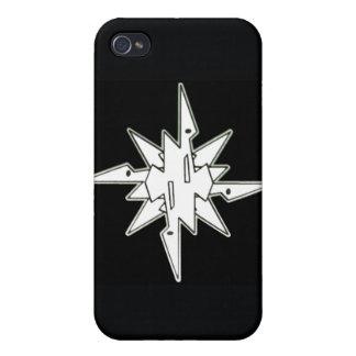 Caso 1 (negro) del iphone de WRC iPhone 4 Carcasa