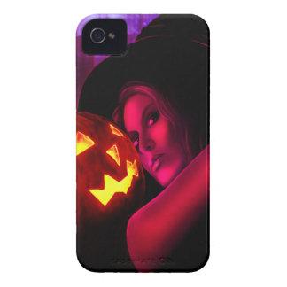 Caso 2011 de IPhone 4/4S Barely There de la bruja iPhone 4 Case-Mate Carcasa