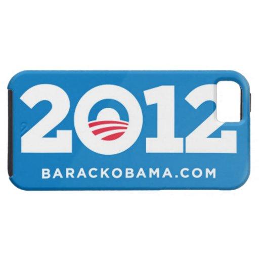 Caso 2012 de Barack Obama iPhone5 iPhone 5 Protectores
