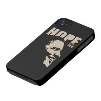 Caso 2012 del iPhone 4 de la esperanza de Obama Case-Mate iPhone 4 Protectores