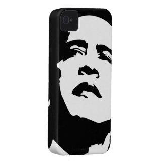 Caso 2012 del iPhone 4 de Obama blanco y negro Case-Mate iPhone 4 Funda