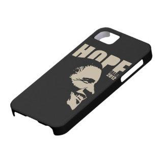 Caso 2012 del iPhone 5 de la esperanza de Obama iPhone 5 Funda