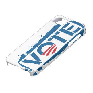 Caso 2012 del iPhone 5 de Obama del voto Funda Para iPhone SE/5/5s