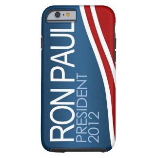 Caso 2012 del iPhone 6 del presidente de Ron Paul Funda De iPhone 6 Tough
