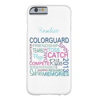 Caso 2013 del iPhone 6 de Colorguard Funda De iPhone 6 Barely There