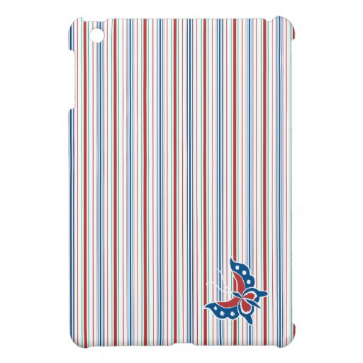 Caso 2 del iPad rayado del batik de Aiyana mini