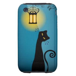 Caso 3GS del iPhone 3G el | del gato negro Carcasa Though Para iPhone 3