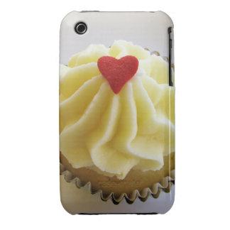Caso 3gs del iPhone de la magdalena del corazón iPhone 3 Protector