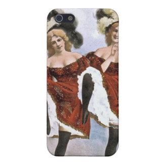 Caso 4/4S del iPhone de los chicas de baile del iPhone 5 Funda