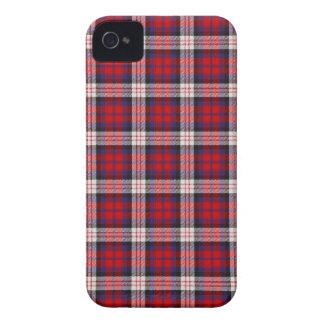 Caso 4 \ 4s del iPhone del tartán de MacDonald Case-Mate iPhone 4 Cárcasa