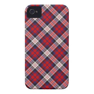 Caso 4 \ 4s del iPhone del tartán de MacDonald Case-Mate iPhone 4 Funda