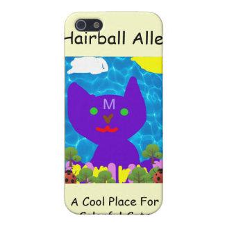 Caso 4 de Iphone del callejón del Hairball iPhone 5 Funda