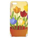 Caso 4 del iPhone de los tulipanes