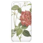 Caso 4 del iPhone del rosa rojo