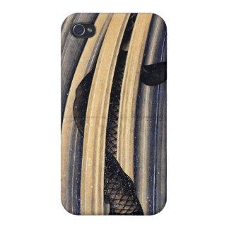 Caso 4 y 4S del iPhone de la carpa de Hokusai iPhone 4 Cobertura