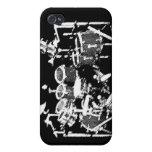 caso 4 y 4S del iPhone para los baterías iPhone 4 Carcasa