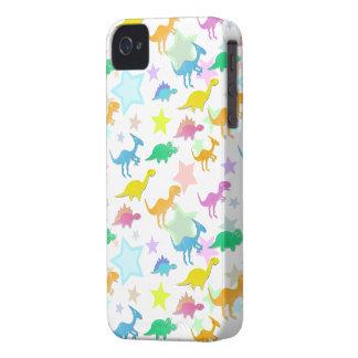 Caso 4S del iPhone 4 del modelo de los dinosaurios iPhone 4 Case-Mate Cobertura