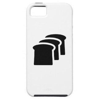 Caso 5/5S del iPhone del pictograma del pan iPhone 5 Funda