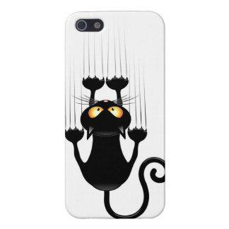 Caso 5S del iPhone 5 de Apple del gato
