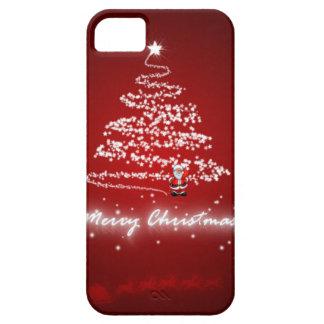 caso 5s del iphone 5 de Navidad santa de las Felic iPhone 5 Case-Mate Fundas